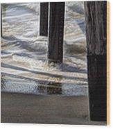 Slow M'ocean Wood Print