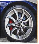 Slr Wheel Wood Print