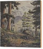 Slumgullian Pass Wood Print