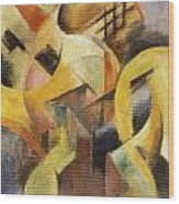 Small Composition 1913 Wood Print