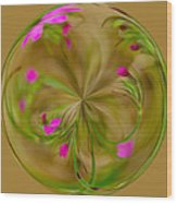 Small Pink Buds Wood Print
