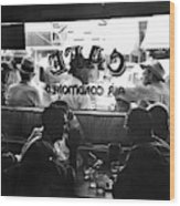 Small Town Cafe, 1941 Wood Print