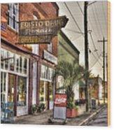 Small Town U. S. A. Wood Print