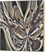 Smash And Grab Wood Print