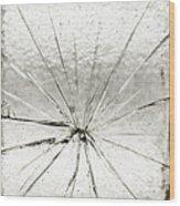 Smashing Wood Print