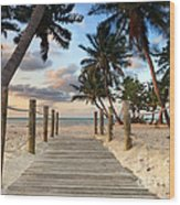 Smathers Beach 2 Wood Print