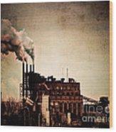 Smelter Wood Print