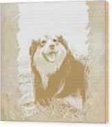 Smile II Wood Print by Ann Powell