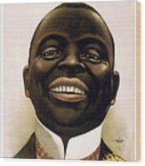 Smiling African American Circa 1900 Wood Print
