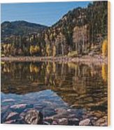 Smith And Morehouse Reflections Wood Print