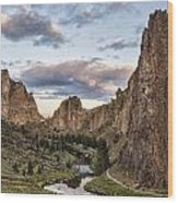Smith Rock Wood Print