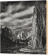Smith Rock State Park 1 Wood Print