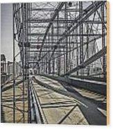 Smithfield Bridge Wood Print
