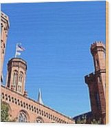 Smithsonian Castle Wood Print