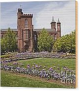 Smithsonian Castle No1 Wood Print