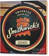 Smithwick Sign Wood Print