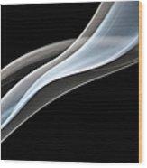 Smoke, Creative Abstract Vitality Wood Print
