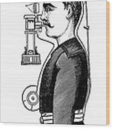 Smoke Hood, 1880s Wood Print