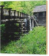 Smoky Mountain Mill Wood Print