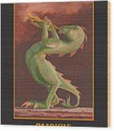 Smokin' Wood Print by Leonard Filgate