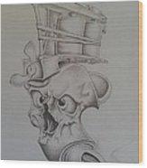 Smokin'ink Wood Print