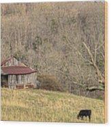 Smoky Mountain Barn 10 Wood Print