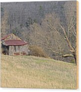 Smoky Mountain Barn 9 Wood Print