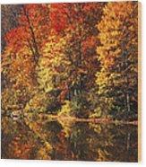 Smoky Mountain Colors - 234 Wood Print