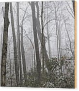 Smoky Mountain Hardwoods Wood Print