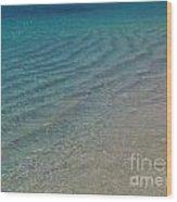 Smooth Seas Wood Print