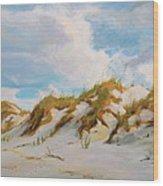 Smyrna Dunes Wood Print