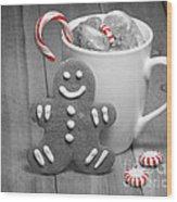 Snack For Santa Wood Print by Juli Scalzi