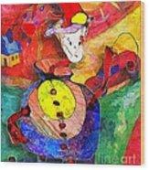 Snail 0372 Marucii Wood Print