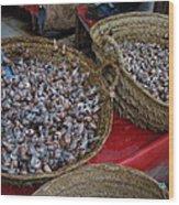 Snails For Sale Wood Print