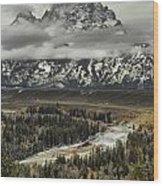 Snake River - Tetons Wood Print