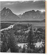 Snake River - Grand Teton National Park Wood Print