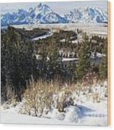 Snake River Overlook Wood Print