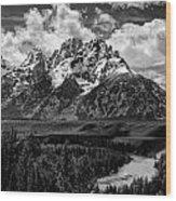 Snake River Overlook Wood Print