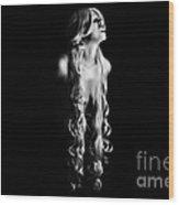 Snarl Wood Print
