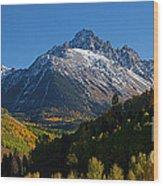 Sneffels Panorama Wood Print