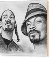 Snoop Dogg Group Art Drawing Sketch Poster 30x85cm Wood Print