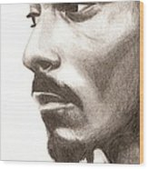 Snoop Dogg Wood Print