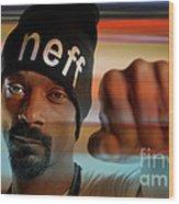 Snoop Lion Wood Print