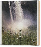 Snoqualmie Falls Wa. Wood Print