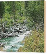 Snoqualmie River Wood Print