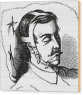 Snoring Prevention, 1871 Wood Print