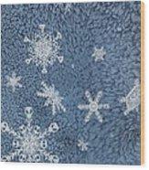 Snow Jewels Wood Print