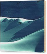 Snow Mountain In Austria  Wood Print by Colette V Hera  Guggenheim