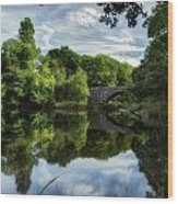 Snowdonia Summer On The River Wood Print