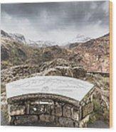 Snowdonia Viewpoint 2 Wood Print